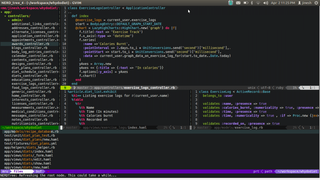 my-vim-screenshot1