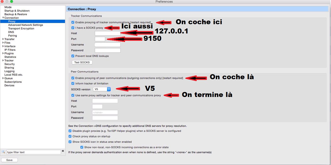 BitTorrent TOR à AdvOR en grâce avec Tuto Télécharger